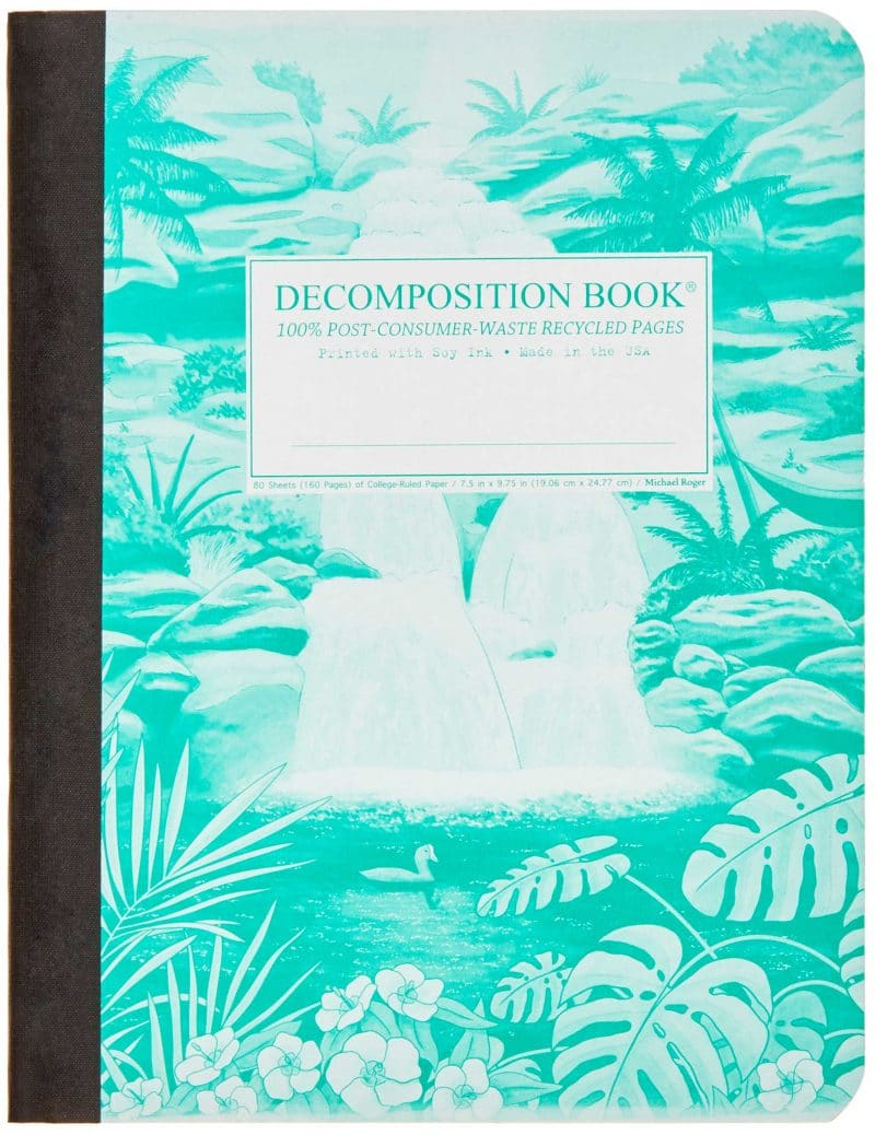 Michael Roger Decomposition Book - Hawaiian Waterfall