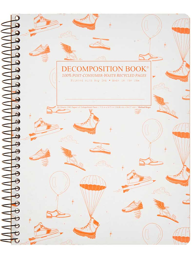 Michael Roger Coilbound Decomposition Book - Fly Kicks