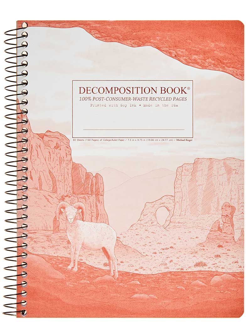Michael Roger Coilbound Decomposition Book - Moab