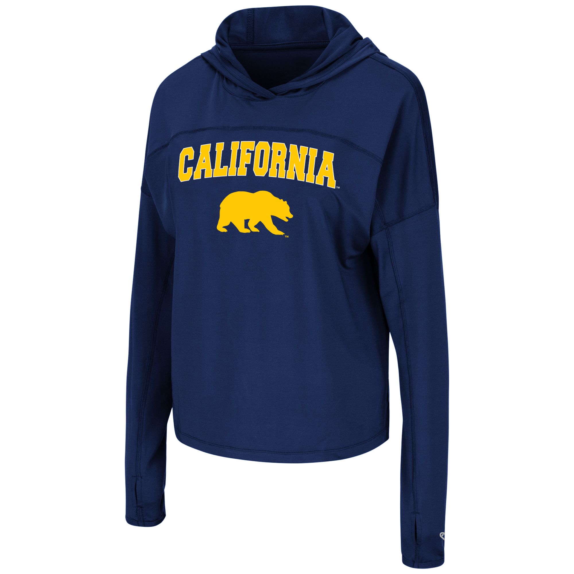 Cal Bears W Beautiful Hooded LS Tee