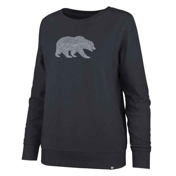 Cal Bears W Deluxe Throwback Fleece Crew