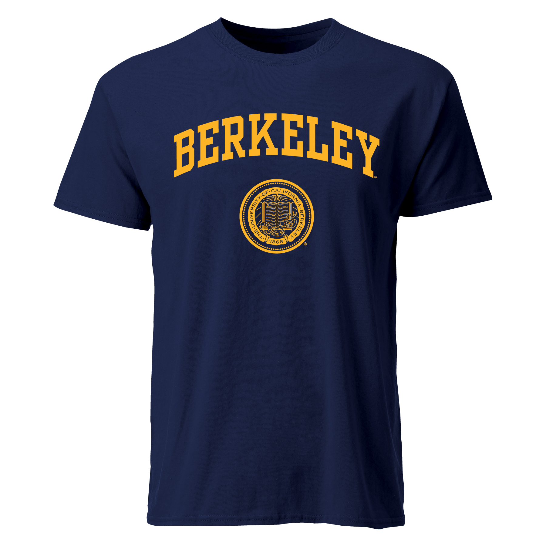Cal Bears M SS Tee Berkeley Seal