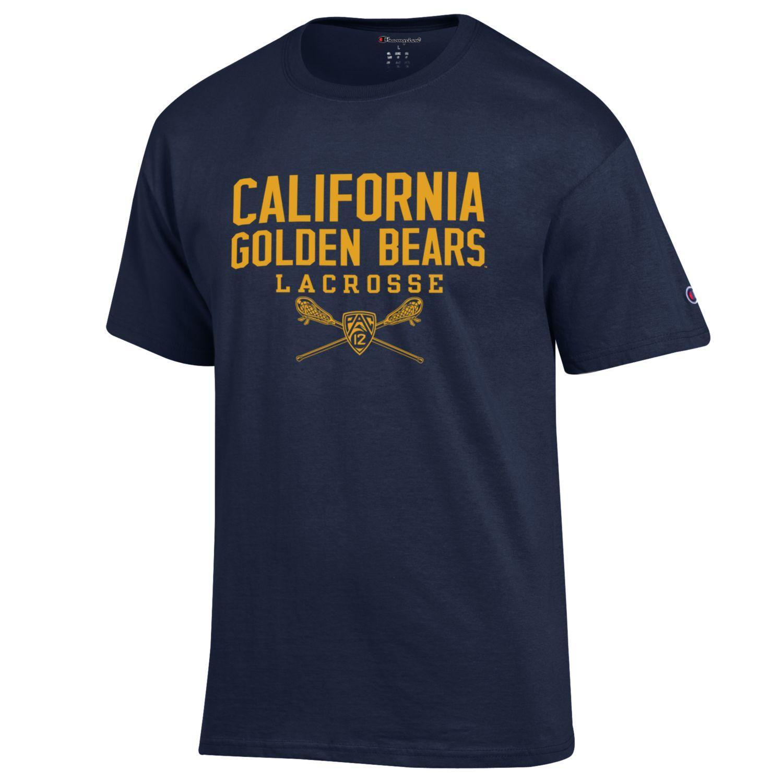 Cal Bears Lacrosse Sport Tee