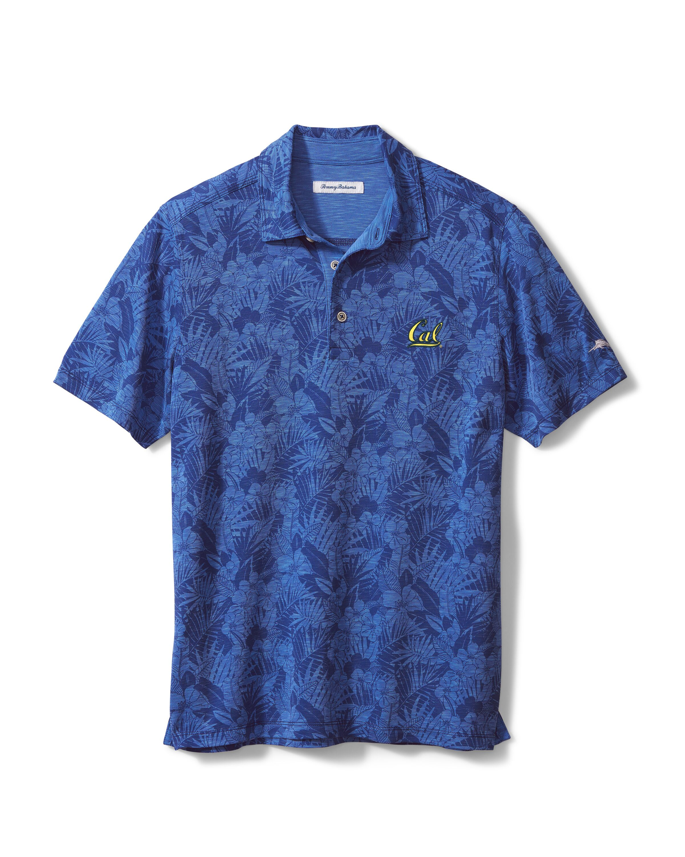 Cal Bears M Tommy Bahama Sport Palmetto Palms Polo