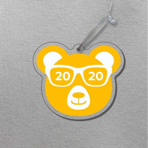 Cal Bears Class of 2020 Acrylic Ornament