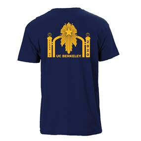 Cal Bears M SS Tee Class of 2020 Sather Gate