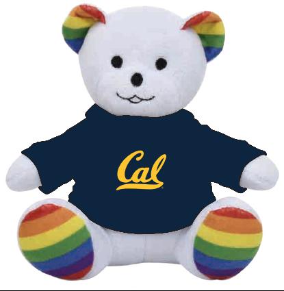 Cal Bears Plush 6in Cal Logo Tee Pride Bear