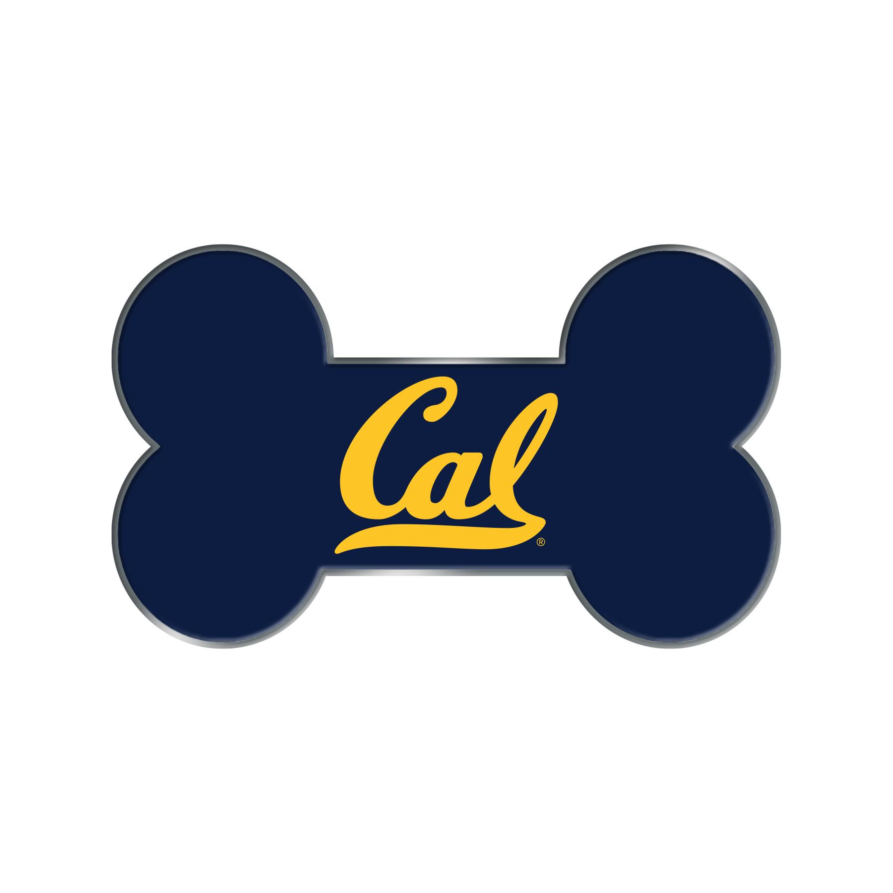 "Cal Bears Large Pet Tag ID 1.5"""