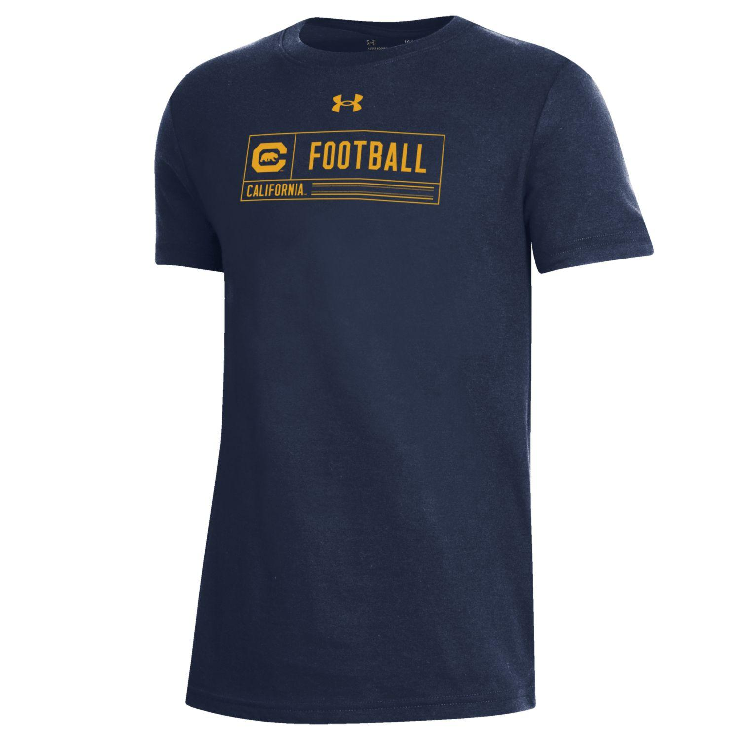 Cal Bears Under Armour Boys Performance Cotton SS Tee