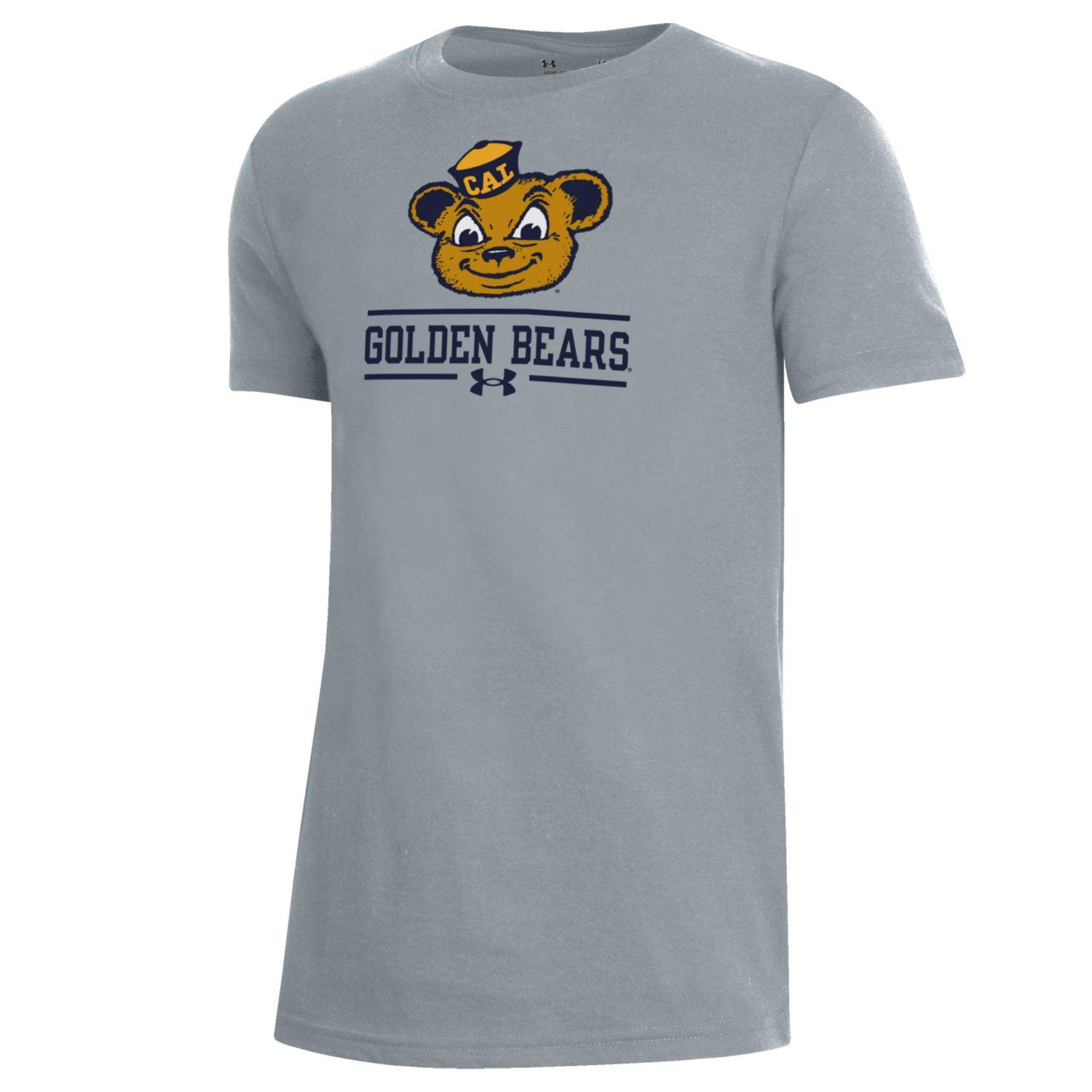Cal Bears Under Armour Boys Performance Cotton SS Oski Tee