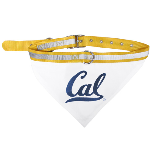 Cal Bears Pet Bandana Collar
