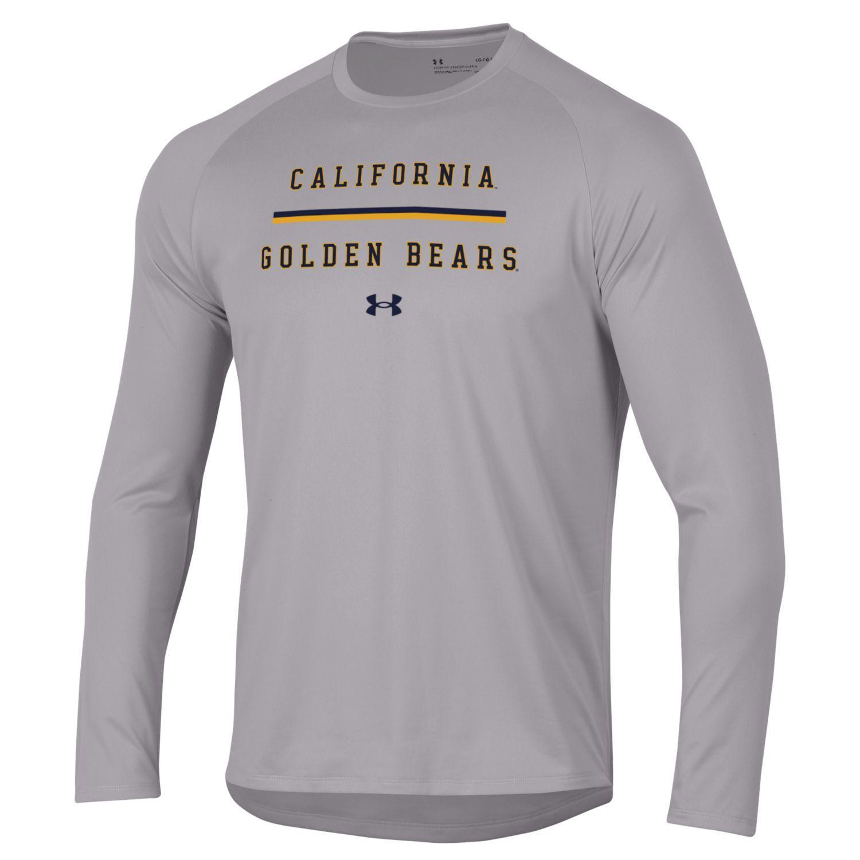 Cal Bears UA M Tech LS Tee 2.0 'Cal Golden Bears'
