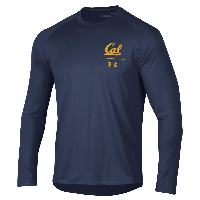 Cal Bears UA M Tech LS Tee 2.0 'Cal'