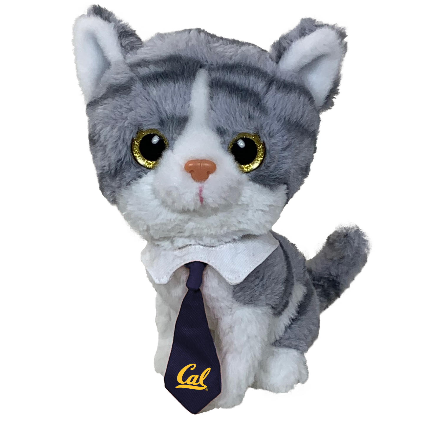 Cal Bears Glitter Cats Grey