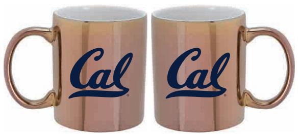 Cal Bears 12oz Iridescent Ceramic Mug Cal Logo
