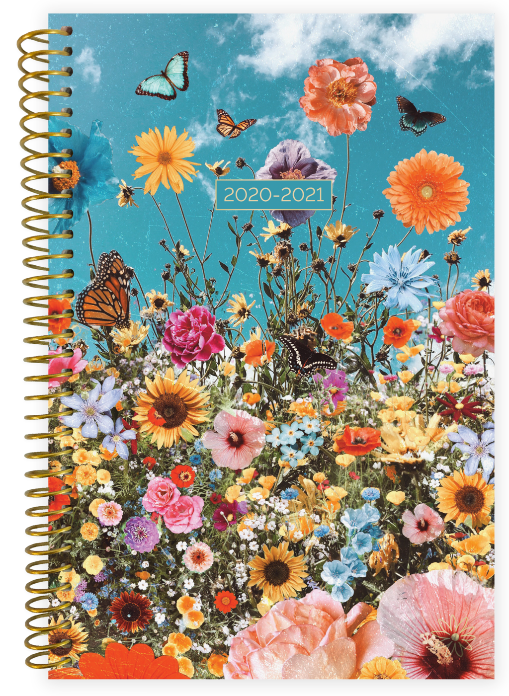 2020-2021 Soft Cover Planner Wildflowers