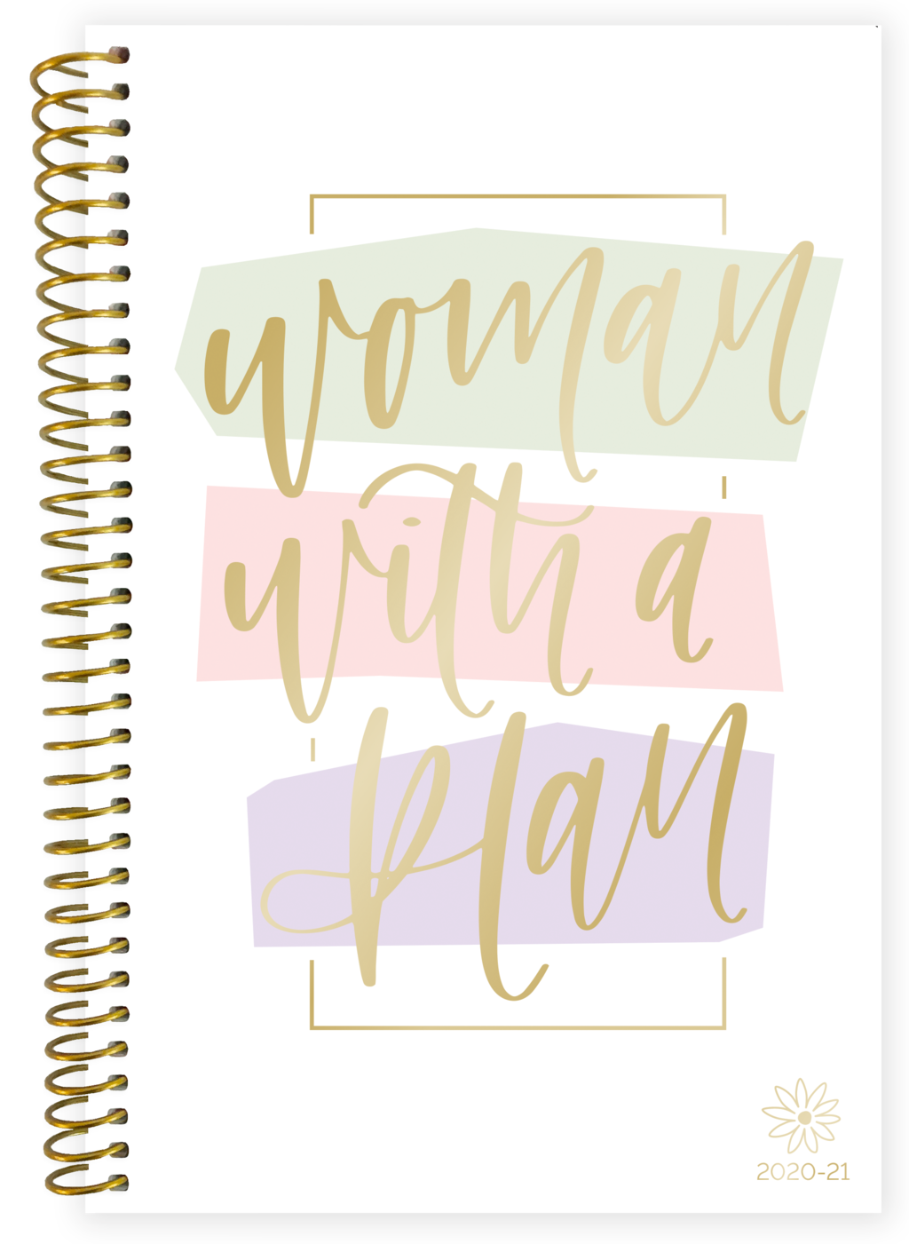 2020-2021 Soft Cover Planner Woman With A Plan