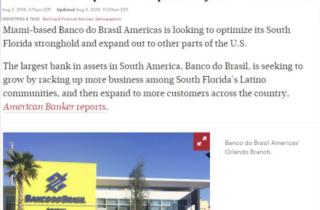 Brazilian bank plans to expand beyond South Florida