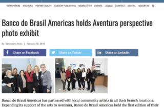 Banco do Brasil Americas holds Aventura perspective photo exhibit