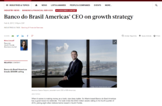 BB Americas Bank CEO on growth strategy