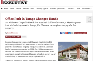 Six-Building Office park complex financed by BB Americas Bank