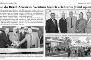 BB Americas Bank Aventura branch celebrates grand opening