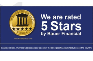 BB Americas Bank receives a 5 stars rating from Bauer Financial