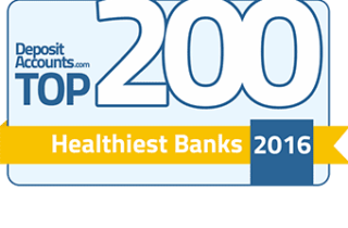 For the 3rd straight year BB Americas Bank is ranked in the top 200 healthiest banks in the US