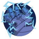 Hedronic Arc: Electrifies Attikus for 8 seconds. Damaged enemies are shocked, taking 88 damage over 4 seconds. Fully Charged: Shock also damages nearby enemies. Cooldown: 18 Seconds