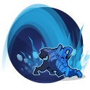 Pounce: Leap to a target location, dealing 141 damage and silencing enemies for 1.5 seconds where Attikus lands. Fully Charged: Deals 100 damage to shields. Cooldown: 25 Seconds