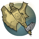 Runic Axe: Boldur deals slow, powerful melee strikes with his Runic Axe. When unarmed, Boldur falls back on hand-to-hand combat with 30% enhanced movement.
