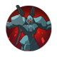 J-HTX Assault Frame: Caldarius' formidable battle armor can be augmented for high mobility or maximized damage output.