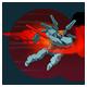 Gravitic Burst: Launches Caldarius forward, dealing 134 damage on impact and pushing enemies back. Cooldown: 18 Seconds