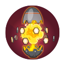Power Egg: Deploys a beacon that imparts bonuses to allies in range. Attack Mode boosts attack speed, while Defense mode reduces damage taken. Cooldown: 18 Seconds