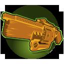 UPR M8-R Revolver Shotgun: Ghalt's customized shotgun deals incredible damage at short range, but is weaker at greater distances.