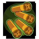 Tactical Shells: The last 4 shots in Ghalt's Revolver Shotgun cylinder deal 25% additional damage.