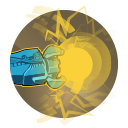 Charge Cannon: ISIC's Charge Cannon fires rapidly while charging. Once fully charged, a powerful blast may be released to deal greater damage to multiple targets.