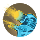 Omega Strike: Toggle turret mode for 40 seconds, replacing basic attacks with weapons that deal 42 and 167 damage per shot. Overcharged: Gain 562 overshield on activation. Cooldown: 60 Seconds