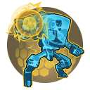 Overcharge: Activating a skill while ISIC's Charge Cannon is fully charged empowers that skill with additional Overcharged effects, and consumes the charge.
