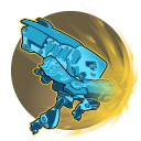Plasma Dash: ISIC charges to a target location while engulfed in plasma, dealing 134 damage to enemies along the way. Overcharged: Deal 155 damage to hit enemies. Cooldown: 22 Seconds