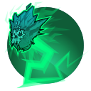 Sublimate: Kelvin becomes a cloud of frigid air for 3 Seconds, greatly increasing movement speed. Touching enemies deals 67 damage and stuns them for 1 second. Cooldown: 23 Seconds