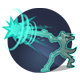 Bindleblast: Fires a single, powerful single shot dealing 375 damage, and increases its damage the longer it is in flight. Must be charged before firing. Cooldown: 80 Seconds