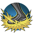 Mansformation: Unleashes a mighty stomp dealing 334 damage and knocking nearby enemies into the air. Montana takes reduced damage for 10 seconds after. Cooldown: 56 Seconds