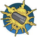 Freg Grenade: Launch a grenade that explodes 3 seconds after launch or 1 second after impact, dealing up to 200 Damage to each enemy within its blast radius. Cooldown: 17 Seconds