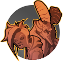 Aurox: Shayne's companion djinn serves as Shayne's shield and bodyguard, helping to melee enemies at close range.
