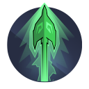 Nature's Curse: Enemies hit with a charged arrow are highlighted and cursed for 8 seconds.  Skills and charged arrows deal 25% additional damage to cursed targets