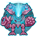 Core Discharge: Transform's Toby's mech to charge up a powerful laser that deals 406 damage a second for 6 seconds. Cooldown: 65 Seconds