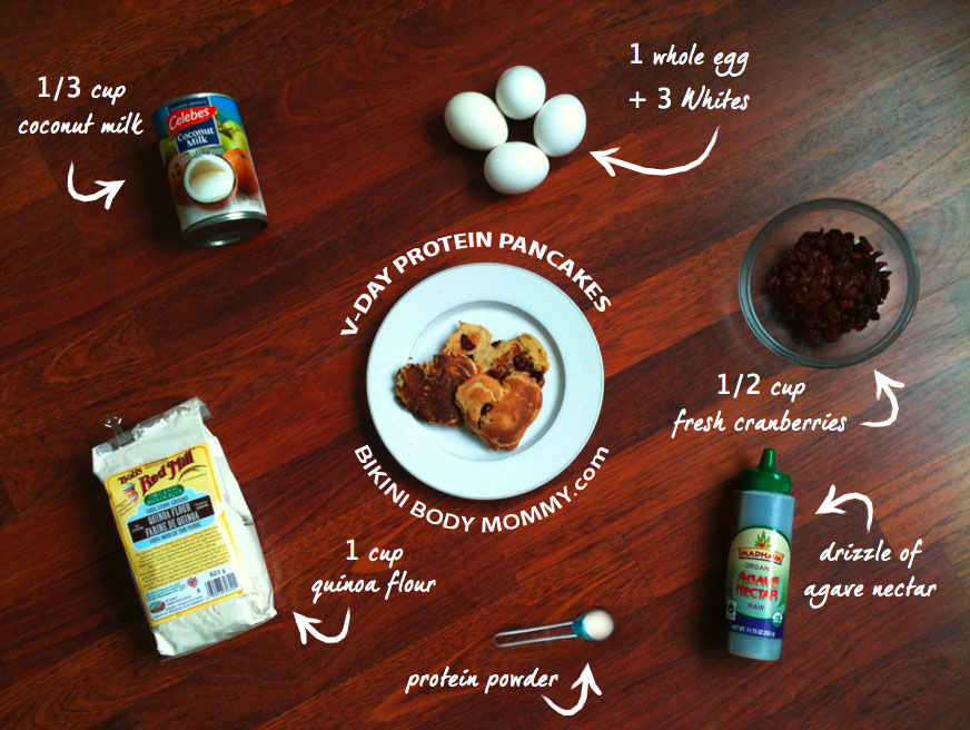 Bikini Body Mommy Protein Pancakes Recipe