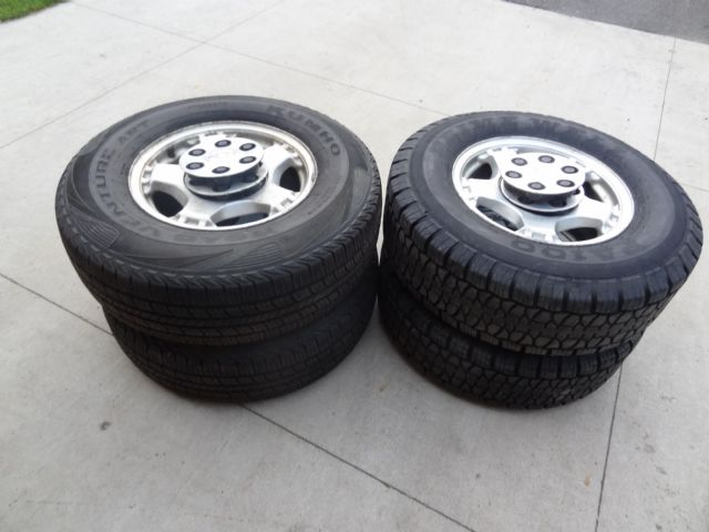 245/75/16 Silverado Tires and Rims Alexandria MN