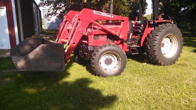 Case CX 80 Tractor Alexandria MN